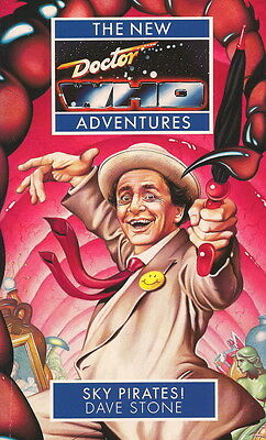 7th Dr Doctor Who Virgin New Adventures Book - SKY PIRATES! - (Mint New)