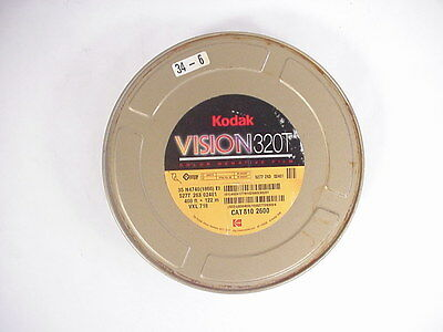 Kodak Vision 320T Color Negative 35mm Motion Picture  film 400' in can
