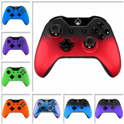 Soft Touch Front  Repair Shell Faceplate Protective Part for Xbox One Controller
