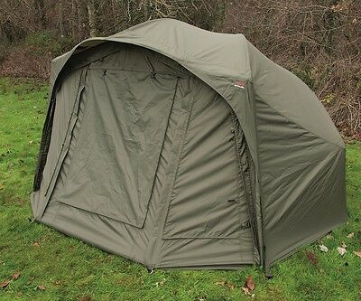 TF Gear New Hardcore Brolly System Carp Fishing Shelter Ex Demo TFG