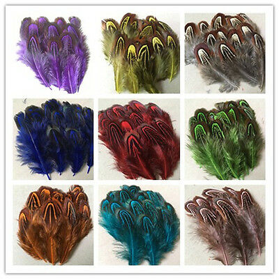 wholesale! 20-100pcs beautiful natural pheasant feathers 4-8 cm / 2-3 incheswhol