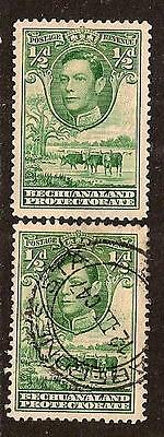 Bechuanaland 1938 King George Sc # 124 Mlh Used