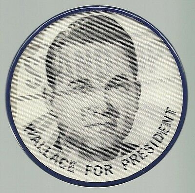 Stand Up For America George Wallace Political Flasher Campaign Pin