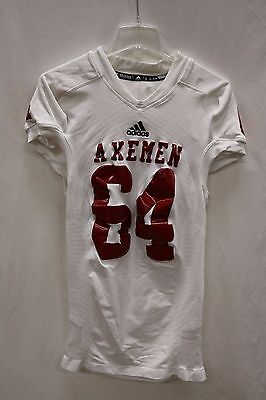 Men's TechFit adidas Authentic Jersey AXEMEN  #64