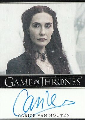 Game Of Thrones Season 5 - Carice Van Houten (Melisandre) Autograph Card B L
