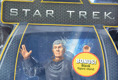ORIGINAL SPOCK Star Trek DELUXE Action Figure Playmates Toy New In Package Nimoy