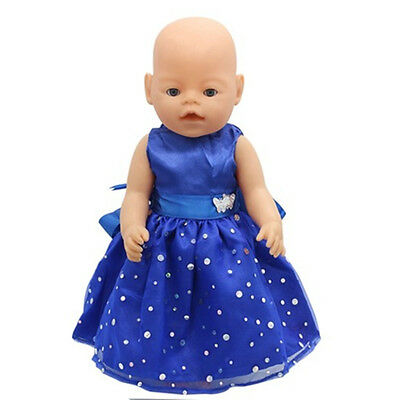 1set Doll Clothes Wearfor 43cm Baby Born zapf (only sell clothes ) B84