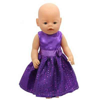 1set Doll dress Clothes Wearfor 43cm Baby Born zapf (only sell clothes ) B89