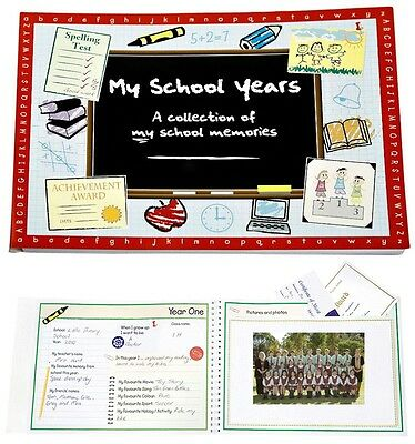 My School Years Book - Memory keepsake for child memories special moments