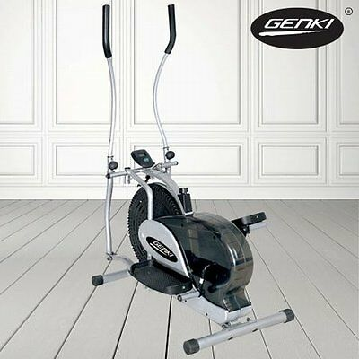 NEW Office/Home Genki Elliptical Bicycle Body Workout Cross Trainer Fitness Bike
