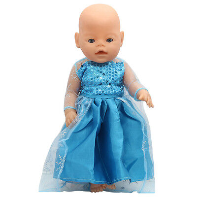 1set Doll Clothes Wearfor 43cm Baby Born zapf (only sell clothes ) B123