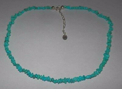 Carolyn Pollack American West Turquoise Petite Nugget Necklace