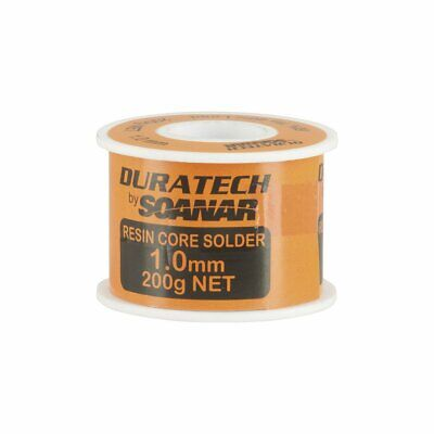 1mm Duratech Solder - 200gm reel- Resin Core 60% Tin  40% Lead NS3010