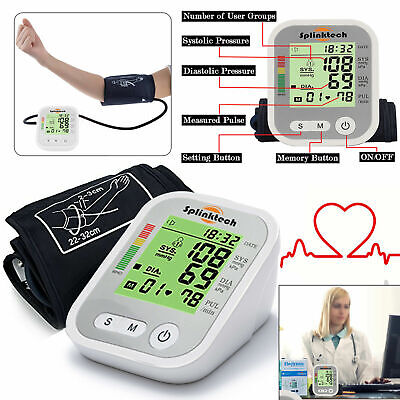 Digital 180 Memory Intellisense Automatic Upper Arm Blood Pressure Monitor Meter
