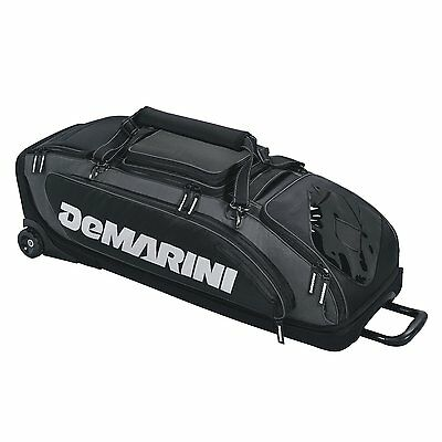 DeMarini Special OPS Wheeled Bag, Black