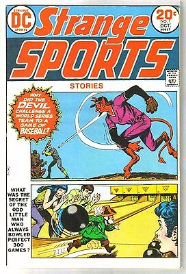 STRANGE SPORTS #1 Devil's Baseball! DC Comic Book ~ VF