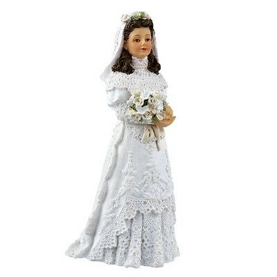 Dolls house figure,1/12th scale poly/resin Bride