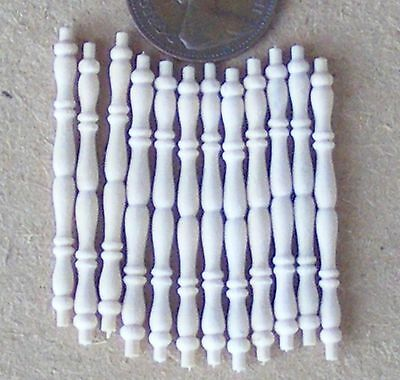1:12 Scale 12 Dolls House Miniature Bannister Table Spindles DIY Accessory 606