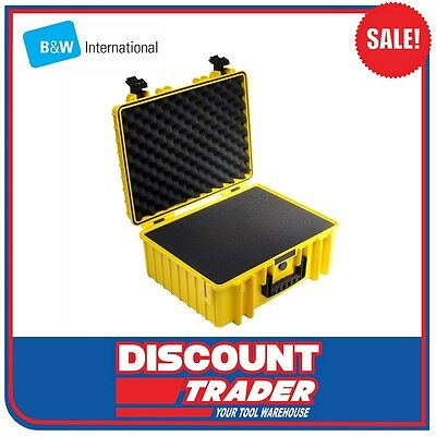 B&W International Heavy Duty Outdoor Safety Case Yellow Type 6000 - 6000YSI