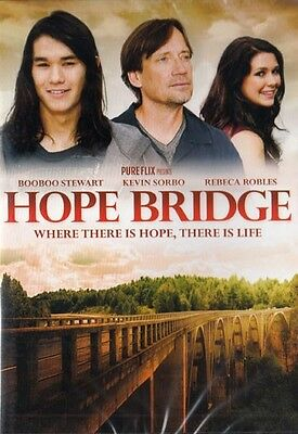 NEW Sealed Christian Drama WS DVD! Hope Bridge (Booboo Stewart, Kevin Sorbo)