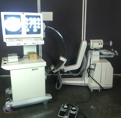 GE OEC DIASONICS 9400 C-Arm X-Ray System with Workstation and Imaging Unit