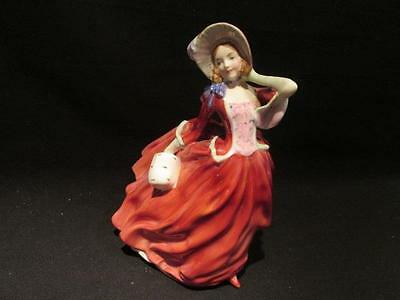 Autumn Breezes Royal Doulton England Vintage Figurine #HN1934 Hand Numbered