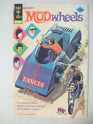 Mod Wheels #17 July 1975 Gold Key Comics Kenner Ttp Turbo Tower Of Power