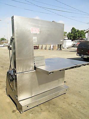 Quality Food Equip. Heavy Duty Stainless Steel Butcher Meat Band Saw