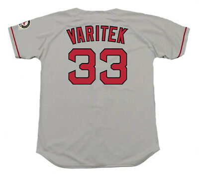 7a3b0944f JASON VARITEK Boston Red Sox 2004 Majestic Throwback Away Baseball Jersey