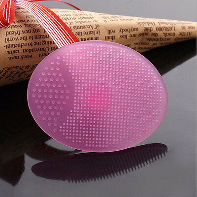 1Pc Cleaning Pad Wash Facial Face Exfoliating Brush SPA Skin Scrub Cleanser Tool