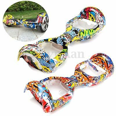 """Graffiti Plastic Shell Cover Case Skin For 6.5"""" Self Balancing Electric Scooter"""