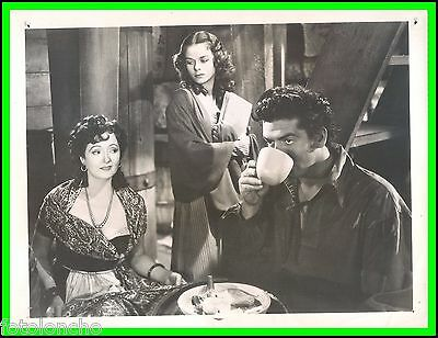 "LOUISE PLATT, VIVIENNE OSBORNE & VICTOR MATURE in ""Captain Caution"" Origin. 1940"