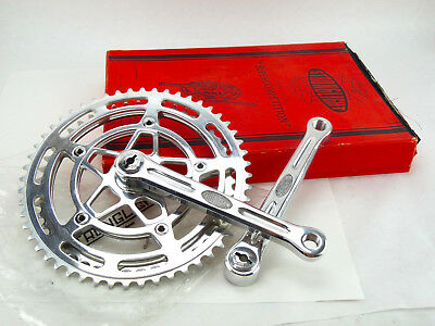 Stronglight 63 Crankset Model 170mm Vintage Bicycle Drilled New in box NOS