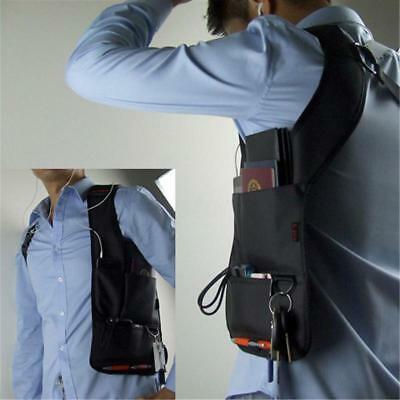 Anti-Theft Hidden Underarm Shoulder Bag Holster Phone Card Case Tote Wallet - LD