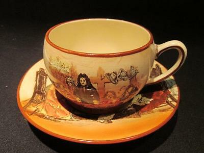 Sir Roger De Coverly Vintage Royal Doulton Series Ware D3418 Cup & Saucer