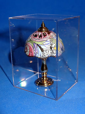 Dollhouse Miniature Exclusive Table Lamp Victorian Style  by REUTTER Porcelain
