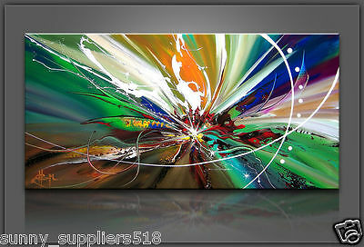 Modern Hand-painted Abstract Oil Painting Canvas Art Decor Wall (No Framed)