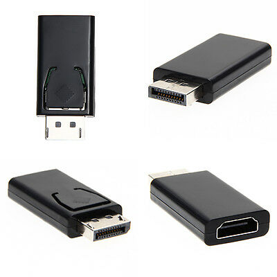 New Display Port DP Male To HDMI Female Adapter Converter Adaptor for HP & DELL