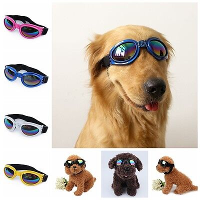 Cool Pet Dog Goggles UV Sunglasses Anti-wind Glasses Eye Wear Protection Fashion
