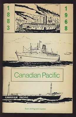 CANADIAN PACIFIC AFLOAT 1883-1968 by MUSK. COMANY HISTORY