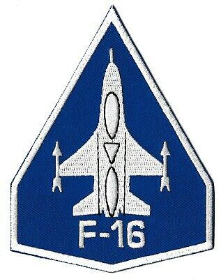 Ecusson patche F-16 US Air Force aviation patch avion pilote