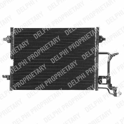 Genuine Delphi Condenser Air Con Conditioning TSP0225456