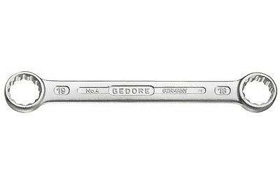 Gedore 6054330 4 Series Flat Ring Spanner 13x17mm