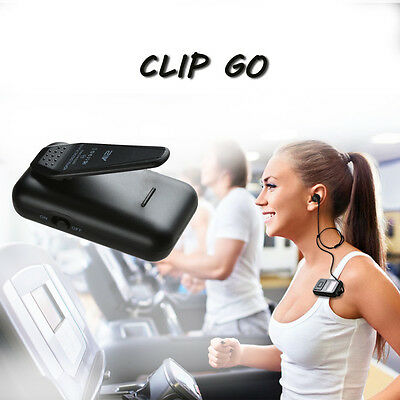 AGPtek 8GB LED Display Portable Clip MP3 Player with FM Radio for Gym Sport