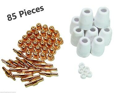 85pcs PT-31 LG40 Air Plasma Cutter Torch Consumables KIT 30/40A CUT-40/50 CT312