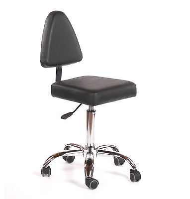 Urbanity hairdressing beauty manicure nail art technician salon chair stool b