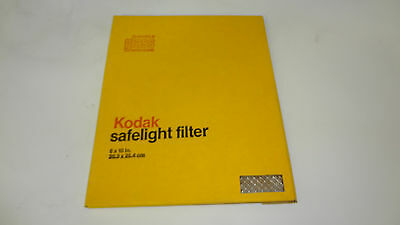 Vintage Kodak Glass Safelight Filter 8x10in.Inch