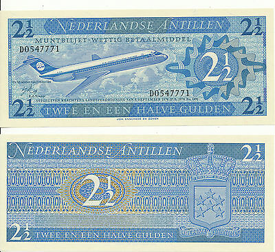 Netherlands Antilles - 2 1/2 Gulden 1970 UNC - Pick 21
