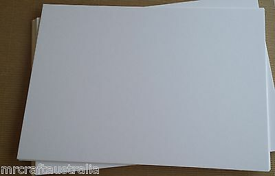 COTTON Paper 100% A4 x 25 110GSM Soft Strong for Embossing Print Letterpress