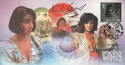 """RARE Doctor Who """"Peri Special"""" Collectable Stamp Cover - Signed Nicola Bryant"""